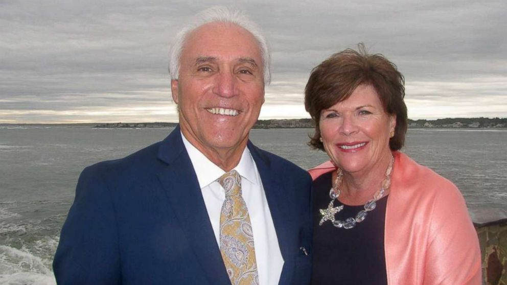 Jack Candini seen in an undated photo with his wife, Marian Candini.