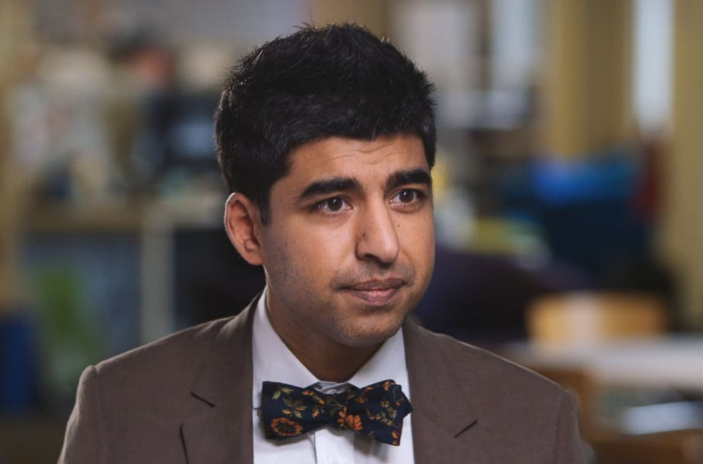 PHOTO: Dr. Neel Shah at the Beth Israel Deaconess has been working on the frontlines of the research to help solve the issue.
