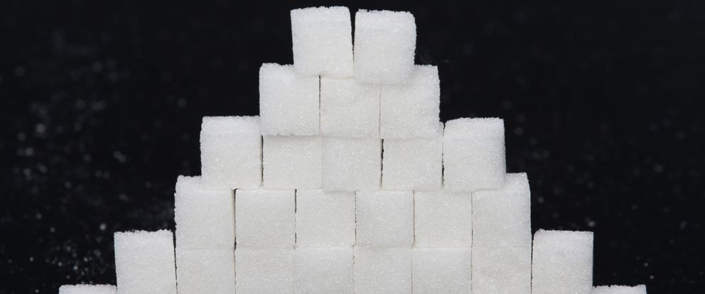 PHOTO: Picture of sugar cubes.