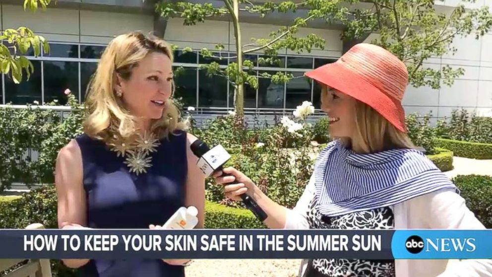 Tips for keeping skin safe in the sun during summer.