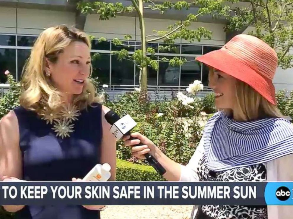 PHOTO: Tips for keeping skin safe in the sun during summer.