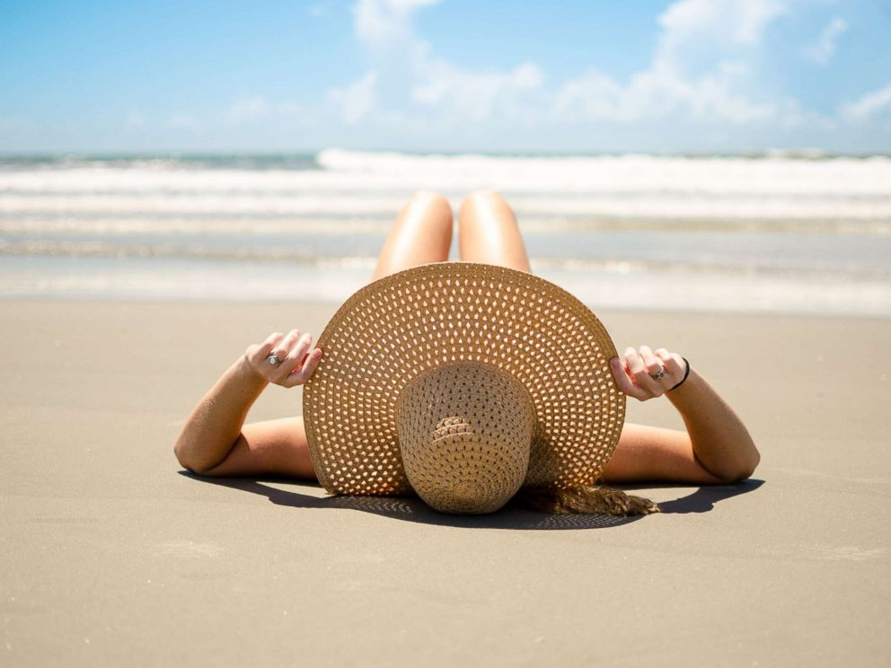 PHOTO: A woman sunbathes in this undated stock photo.