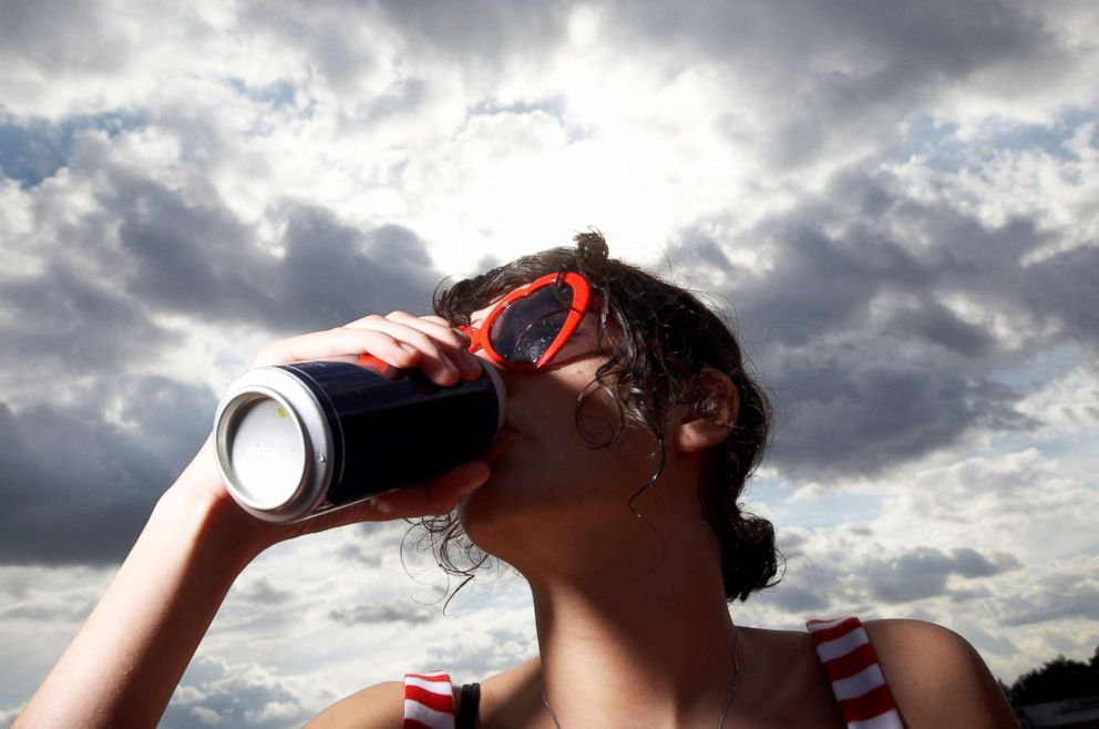 PHOTO: A teen is pictured drinking in this undated stock photo.