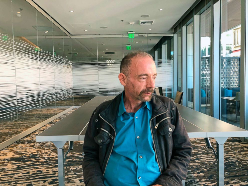 PHOTO: Timothy Ray Brown poses for a photograph, March 4, 2019, in Seattle.