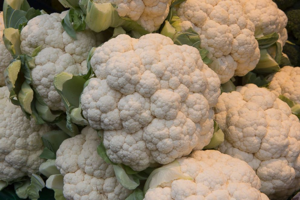 PHOTO: A bunch of cauliflower.Cruciferous vegetables, a group that includes cabbage, cauliflower, broccoli and Brussels sprouts, seemed to have the biggest association with artery wall thinness.