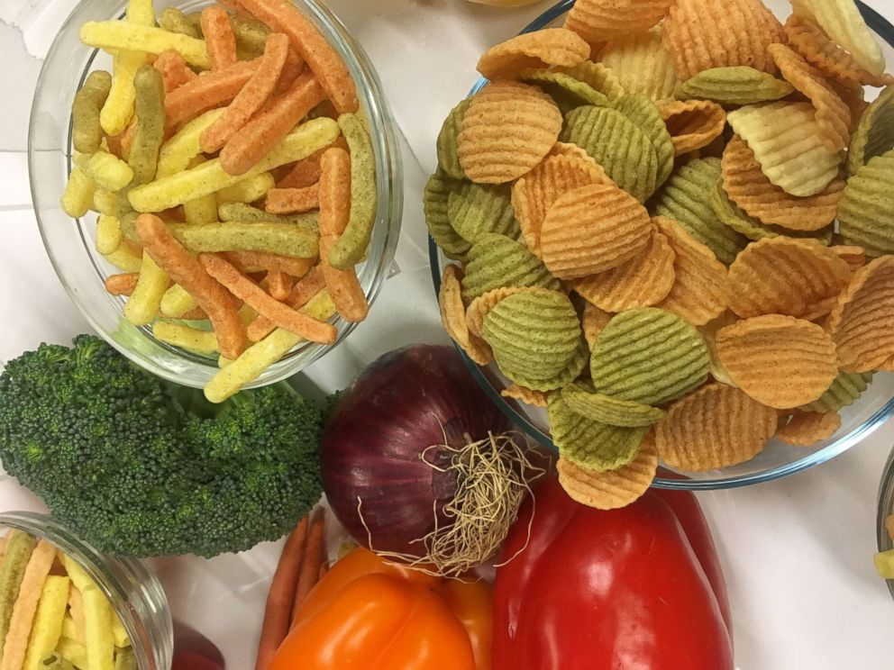 PHOTO: Veggie sticks should not be consumed in place of real vegetables, nutritionist Maya Feller says.