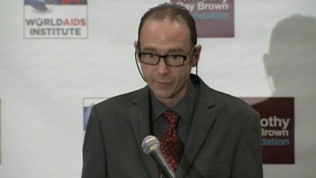 VIDEO: Timothy Ray Brown is believed to be the first person cured of the virus.
