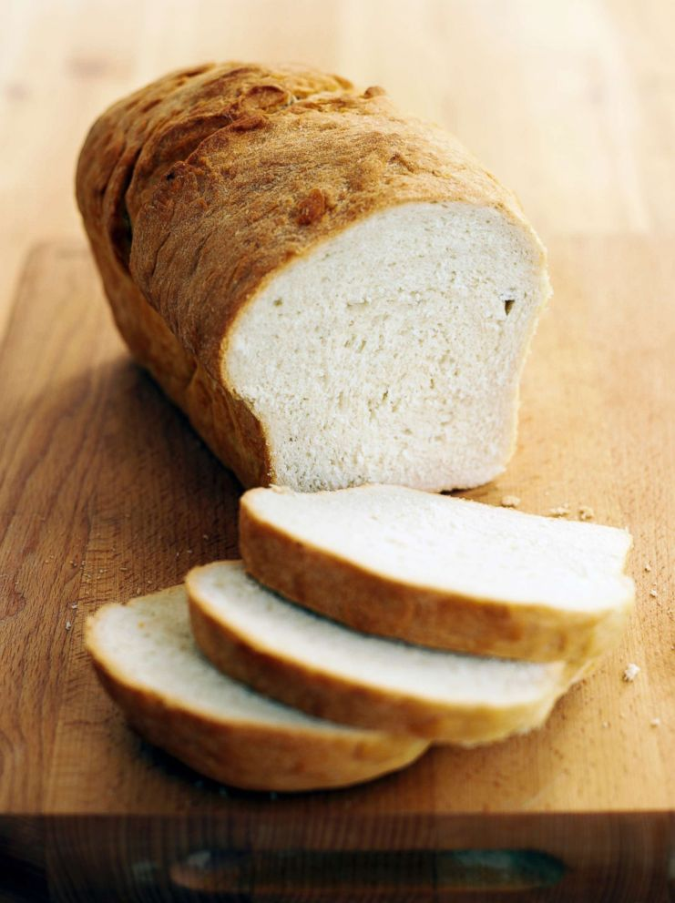 PHOTO: White bread is pictured in this undated stock photo.
