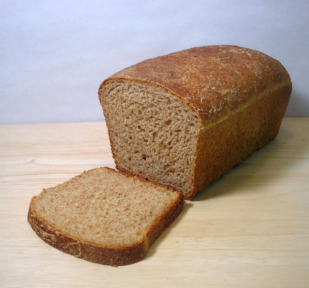 Whole-grain bread is pictured in this undated stock photo.