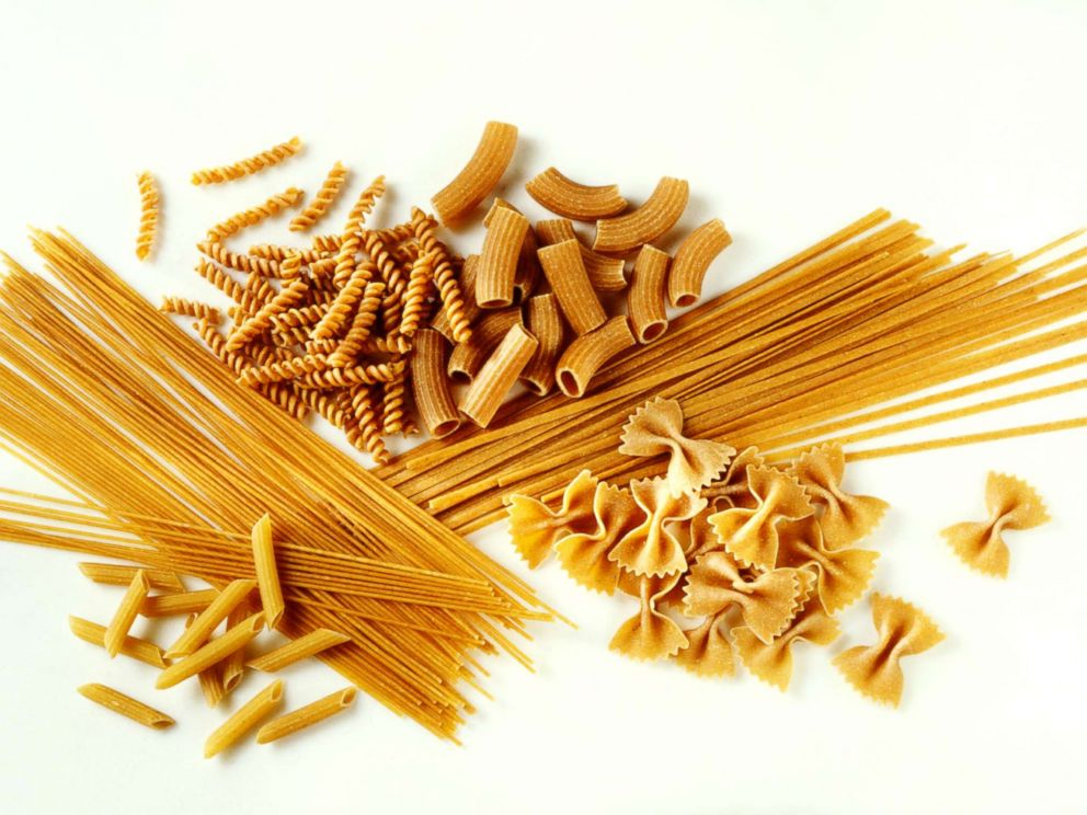 PHOTO: Assorted whole wheat pasta shapes are pictured in this undated stock photo.