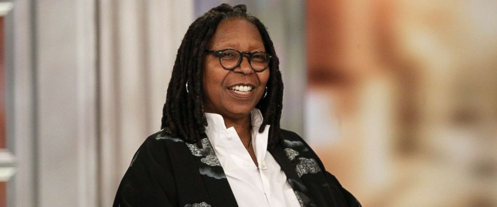 """PHOTO: Whoopi Goldberg speaks on """"The View,"""" March 20, 2018."""
