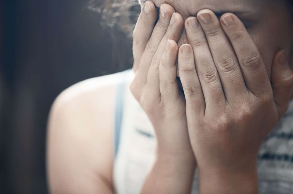 PHOTO: A woman in crisis is pictured crying in this undated stock photo.