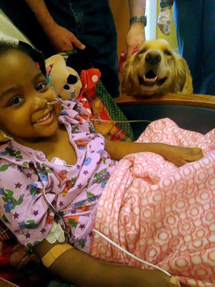 PHOTO: Zanyah Brown was diagnosed with a rare liver condition that required a transplant. She had her transplant in December 2017.