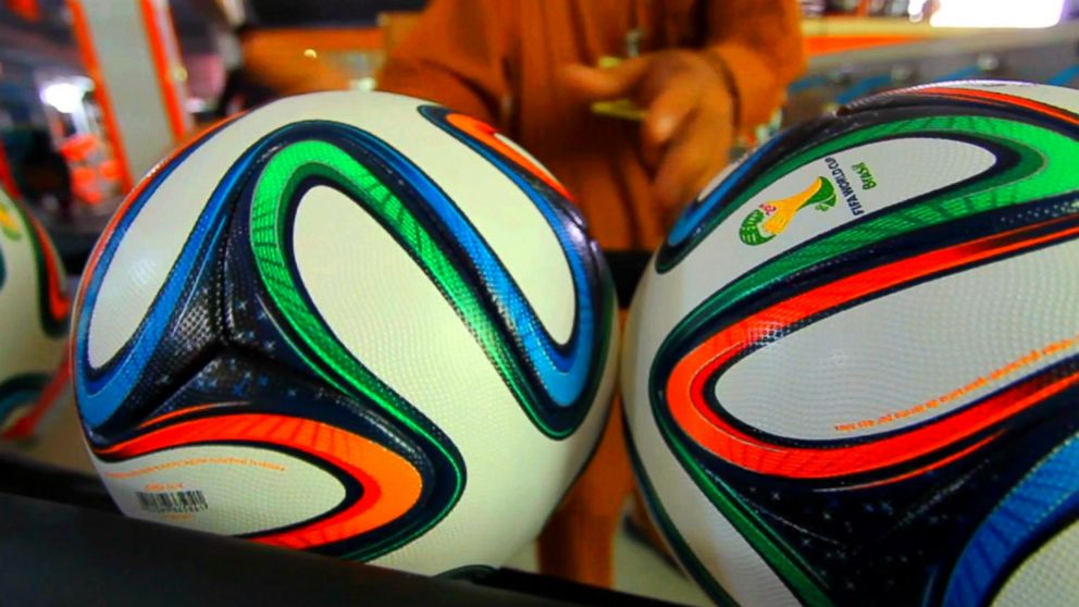 multiple colors big sale available Meet the Brazuca - 'The Most Advanced Soccer Ball Ever Made' Video ...