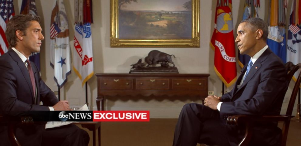 VIDEO: David Muir exclusive with President Obama
