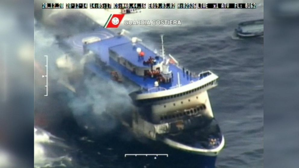 Costa Concordia Videos At ABC News Video Archive At Abcnewscom - What was the last cruise ship to sink