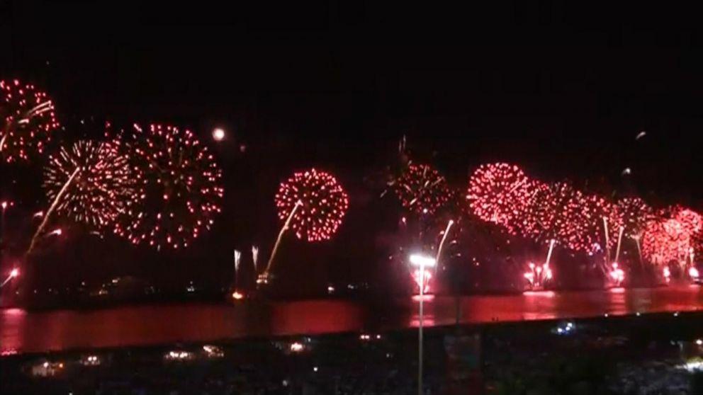 New Year's Celebration in Rio de Janeiro