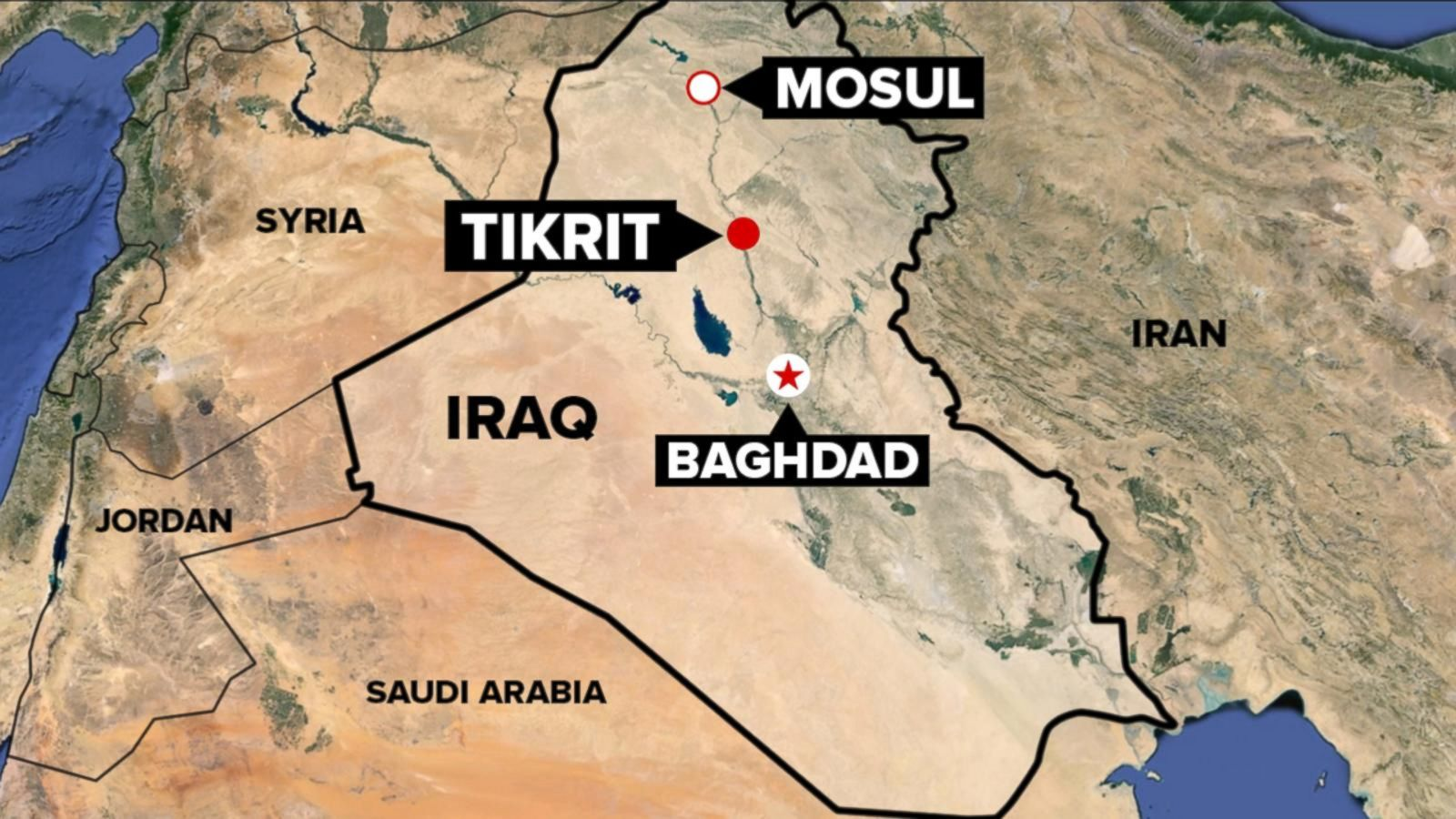 us not providing air support for iraqi push to retake tikrit from isis abc news