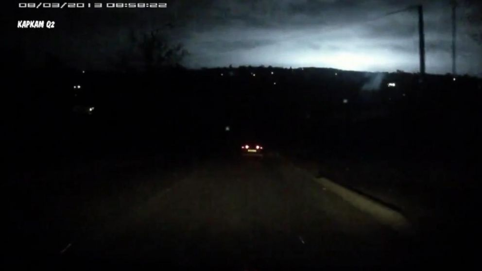 Video Shows Mysterious Flash Lighting Up Russian Sky - ABC News