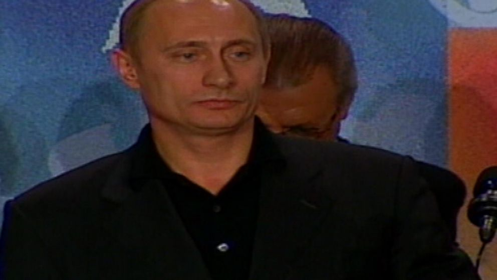 March 26 2000 Vladimir Putin Elected Russian President Tbt Video Abc News