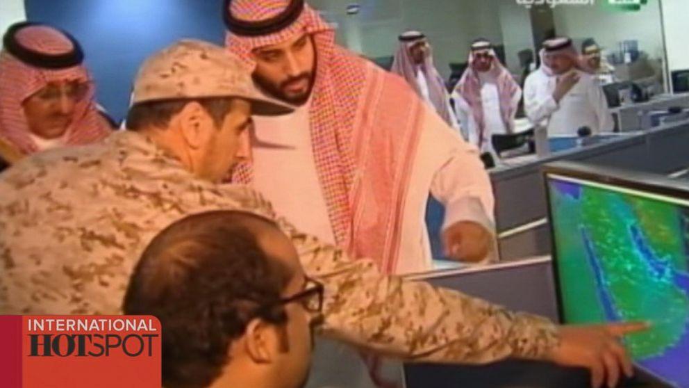 Saudi Arabia Airstrikes Hit Houthi Rebels in Yemen