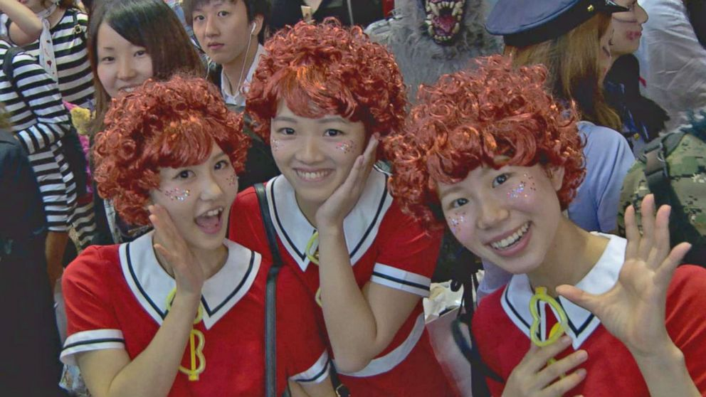 Halloween Fever Takes Over Japan - ABC News