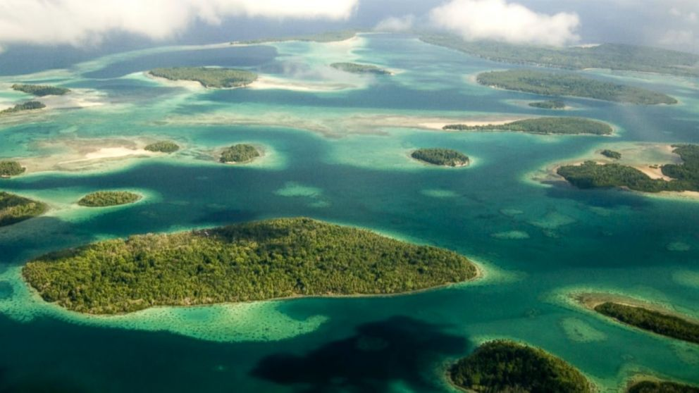 Five Solomon Islands Disappear Into the Pacific Ocean as a