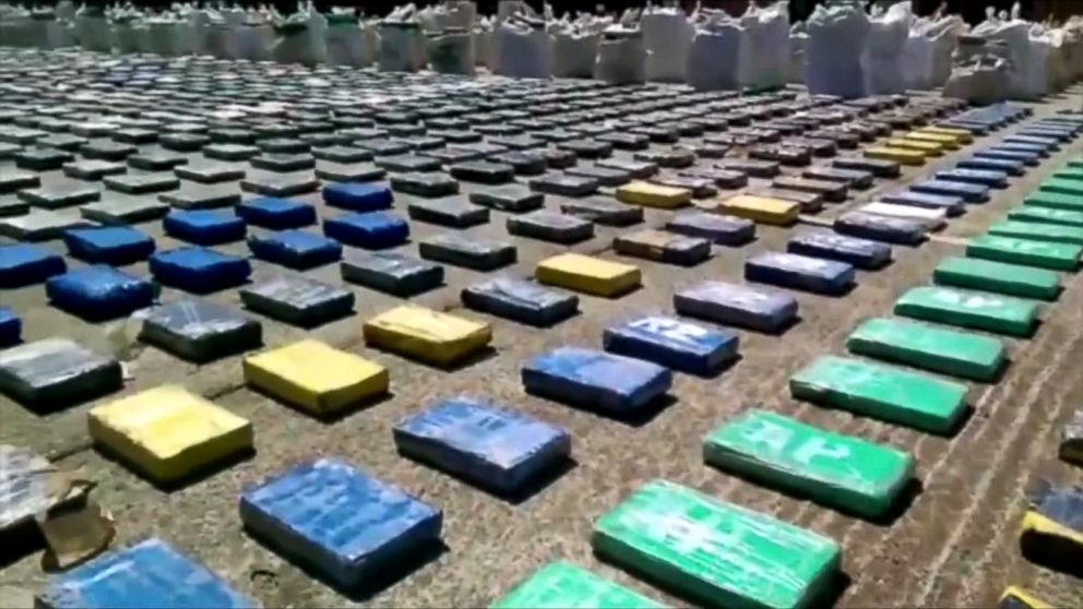 Police In Colombia Seize 8 Tons Of Cocaine In Largest