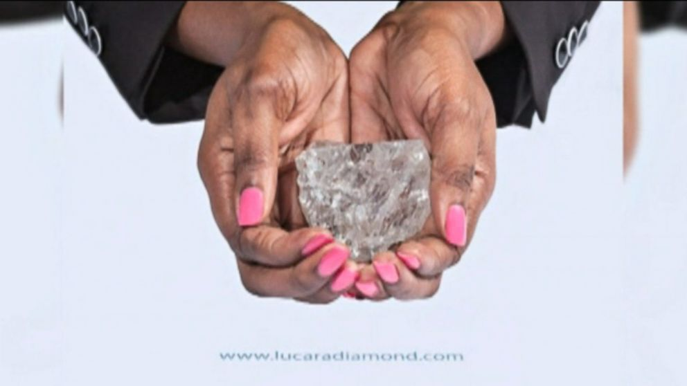 World's Largest Uncut Diamond up for Auction in London - ABC