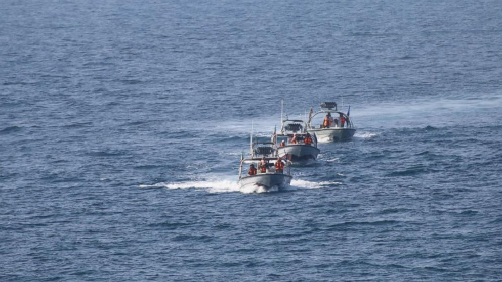 The incident took place near the Strait of Hormuz.