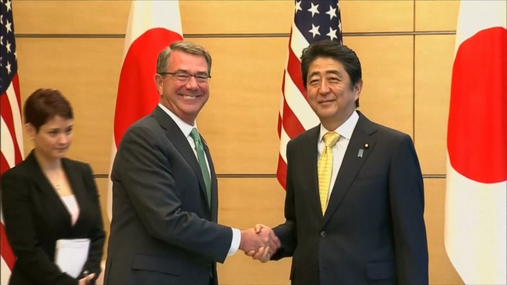 VIDEO: Defense Secretary Ash Carter made the announcement in Tokyo on Tuesday.