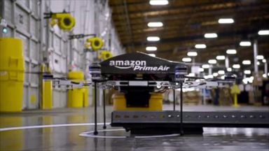 UPS tests launching drones from delivery trucks Video - ABC News