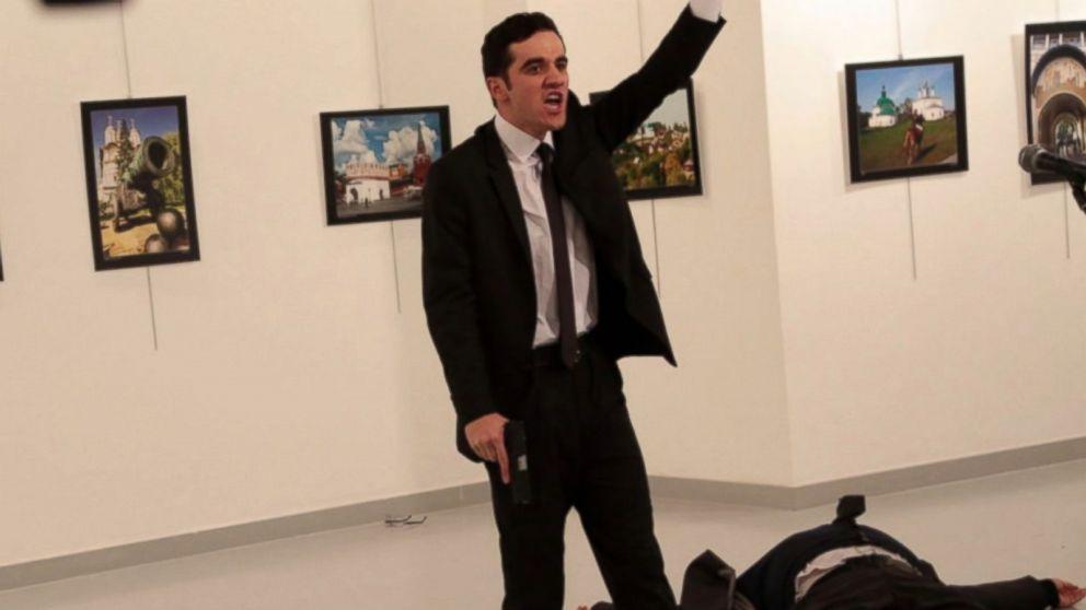 Russian Diplomat Assassinated on Camera in Turkey