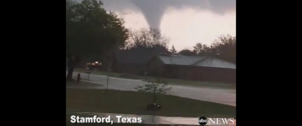 VIDEO: Funnel cloud spotted in Texas