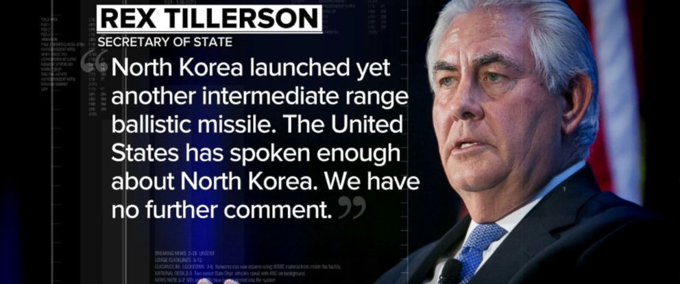 North Korea has launched a KN-15 missile from its eastern coast into the Sea of Japan, U.S. officials said Tuesday.
