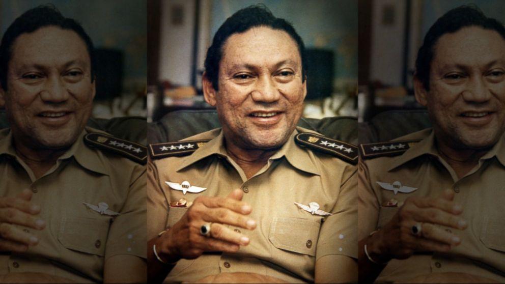 Former Panama dictator Manuel ...