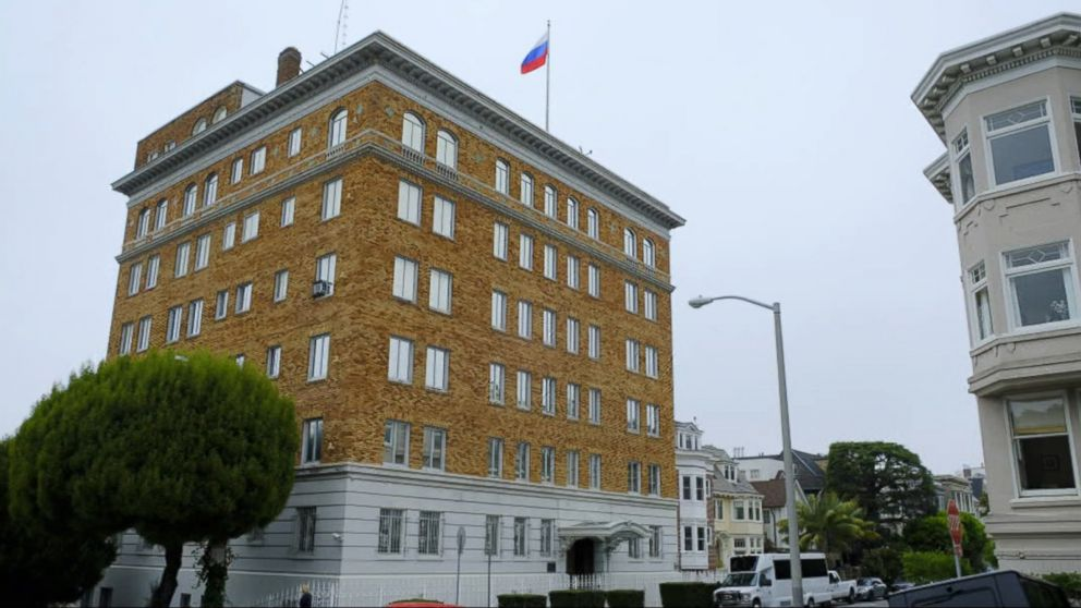 US forces closure of Russia's San Francisco consulate, 2