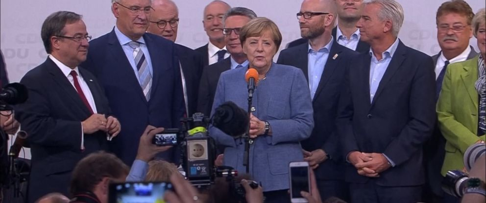 VIDEO: Germanys far right-wing populist Alternative for Germany party scored high.