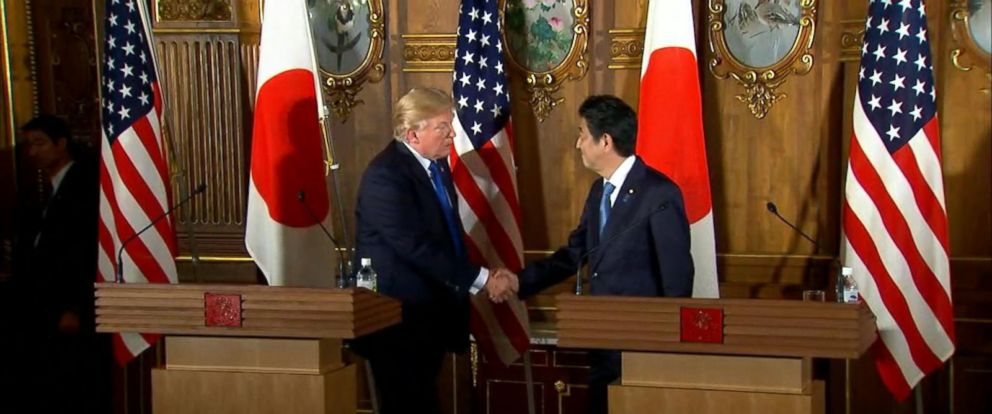 VIDEO: President Trump and Japan Prime Minister Shinzo Abe hold joint press conference