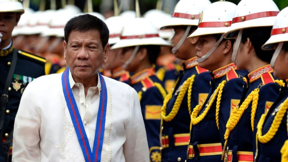 Trump faces tough leader, bloody drug war and terror threat in the Philippines