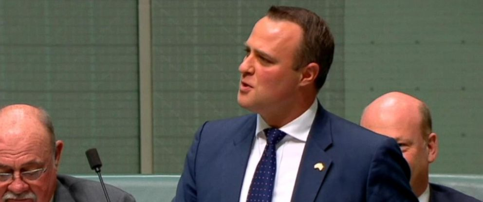 VIDEO: Liberal MP Tim Wilson proposed to his partner of seven years Monday while debating the same-sex marriage bill in the House of Representatives.