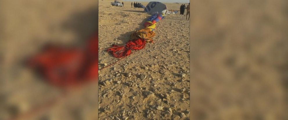 One tourist is dead and a dozen more were injured in a hot air balloon crash in Egypt on Friday, the latest balloon accident in a number of tragedies in the popular tourist region of Luxor over the past few years.