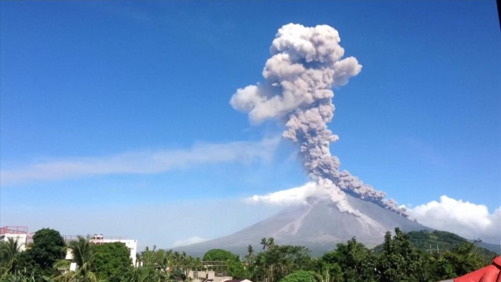 Erupting volcano in Philippines forces evacuation of thousands of ...
