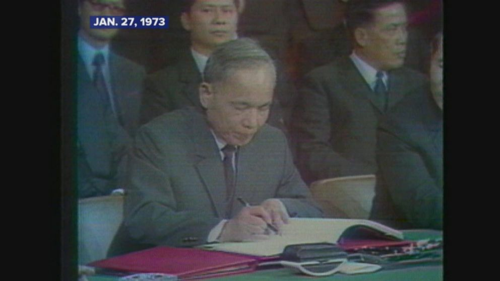 Jan 27 1973 Paris Peace Accords Signed Leading To End Of Vietnam