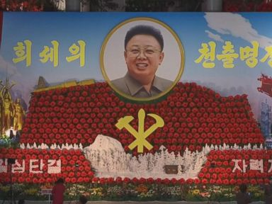 WATCH:  North Korea celebrates birthday of current leader's father, Kim Jong Il