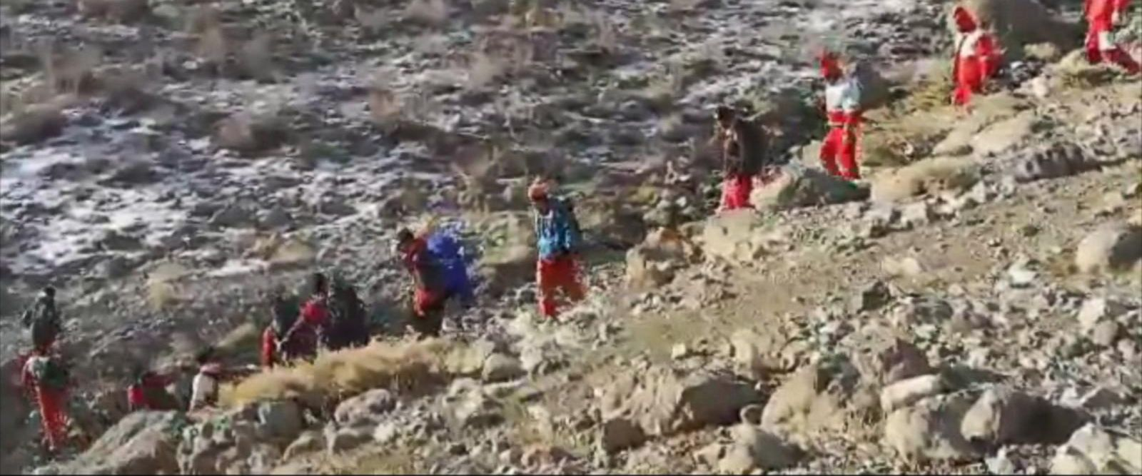 VIDEO: Time is ticking as Iranian rescue teams search the Zagros Mountains trying to locate the wreckage of a missing Aseman Airliner that crashed there on Sunday morning with 66 people on board.