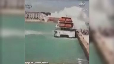 'An explosion on a ferry in Mexico has left a number of people injured, according to local officials in the Mexican state of Quintana Roo.' from the web at 'https://s.abcnews.com/images/International/180221_vod_orig_ferry_explosion_16x9_384.jpg'
