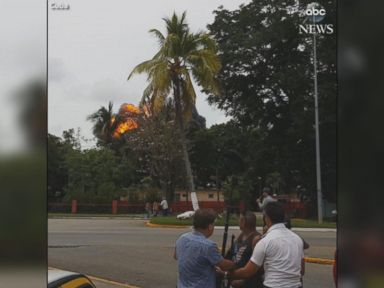 WATCH:  Moments after plane hits the ground in Cuba