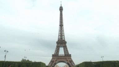 Children watching the World Cup celebrate after goal Video 180614 vod orig eiffeltower hpMain 16x9 384