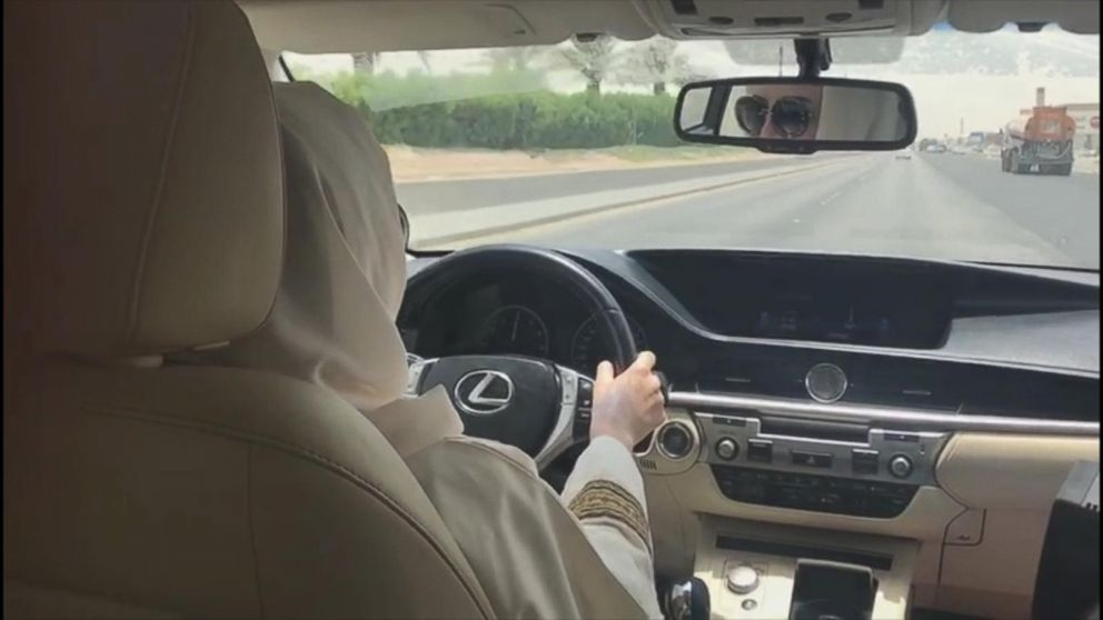 Behind The Wheel >> Saudi Women Get Behind The Wheel Of A Car For The First Time